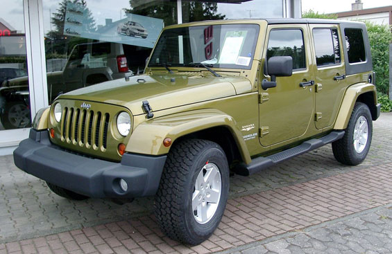 Jeep Wrangler Unlimited car model