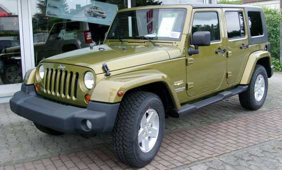 Jeep Wrangler car model