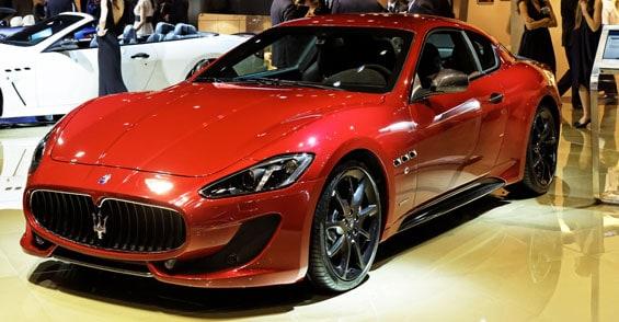 Maserati GranTurismo car model