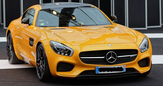 Mercedes-Benz AMG GT car model
