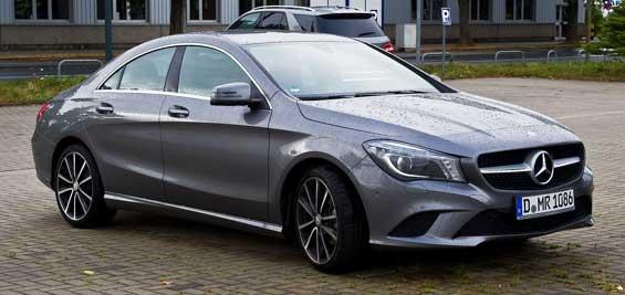 Mercedes-Benz CLA Class car model