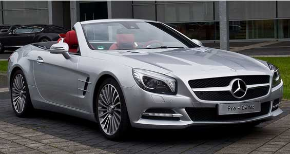 Mercedes-Benz SL Class car model