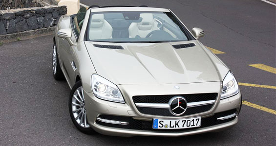 Mercedes Benz SLK Class car model