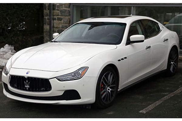 Maserati car models list