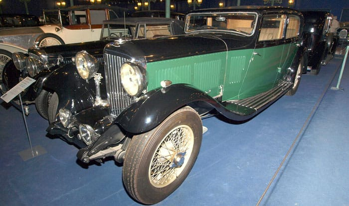 Bentley 8 Litre 4-door sports saloon