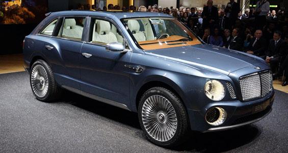Bentley Bentayga SUV model