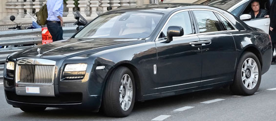 Rolls Royce Ghost car model