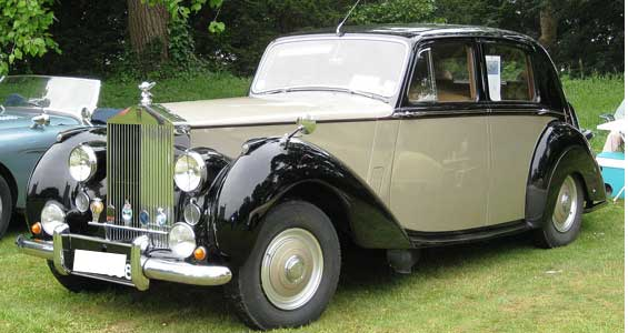 Rolls-Royce Silver Dawn car model