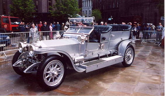 Rolls-Royce Silver Ghost Car model