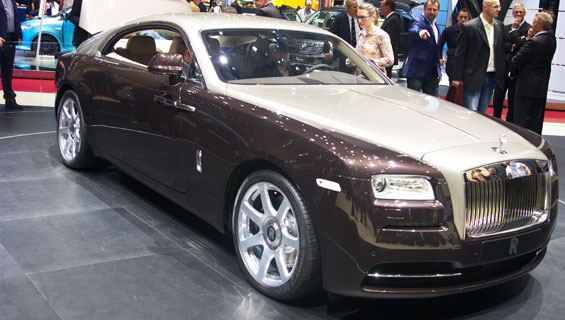 Rolls-Royce Wraith car model