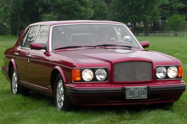 Bentley Car Models List
