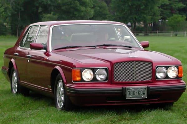 Bentley Car Models List