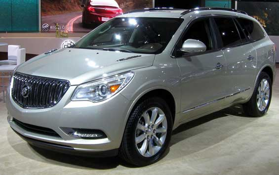 Buick Enclave car model
