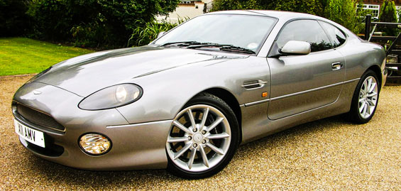 Aston Martin DB7 Car Model