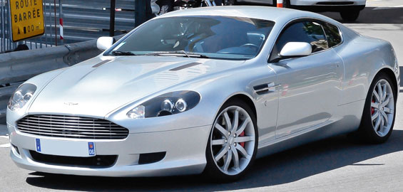 Aston Martin DB9 Car Model