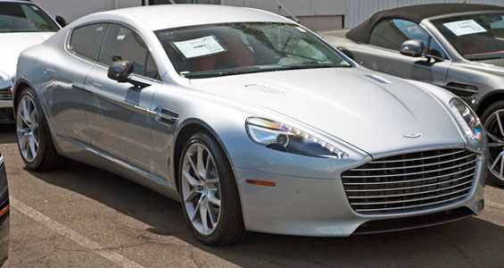 Aston Martin Rapide Car Model