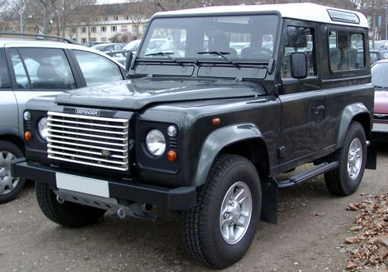 Land Rover Defender car model
