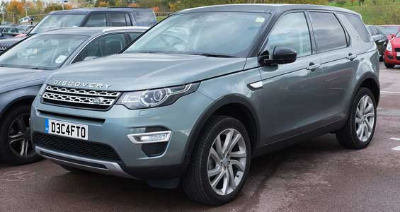 Land Rover Discovery Sport car model