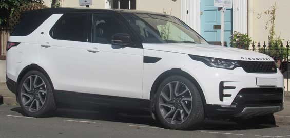 Land Rover Discovery car model