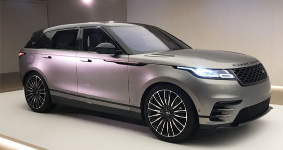 Range Rover Velar car model