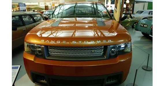 Range Stormer concept car model