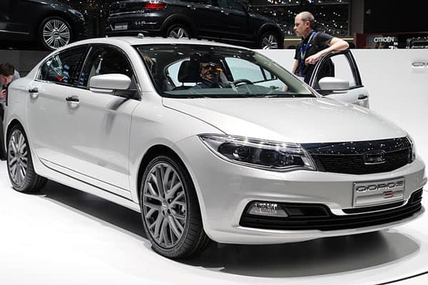Chery Car Models List