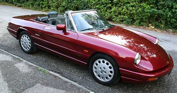 Alfa Romeo Spider car model