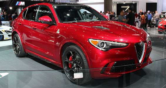 Alfa Romeo Stelvio car model