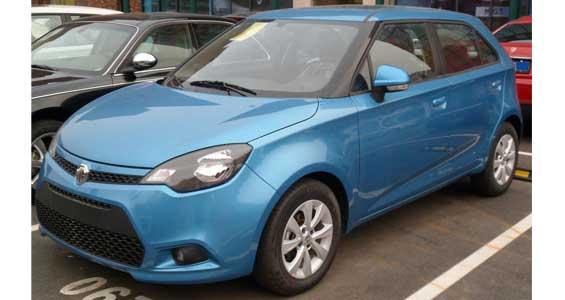 MG 3 car model