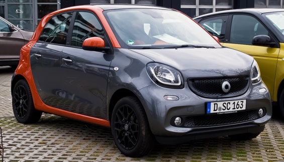 Smart Forfour car model