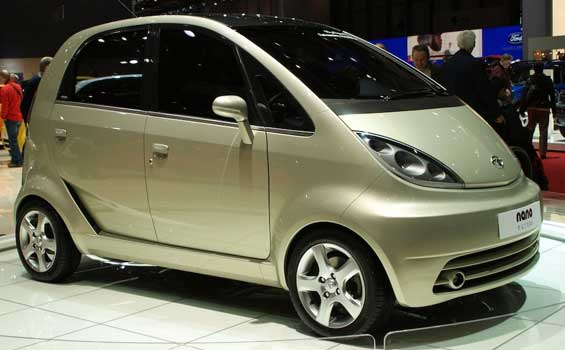 Tata Nano car model