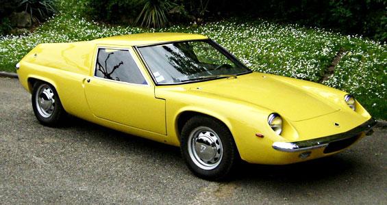 Lotus Europa Car Model