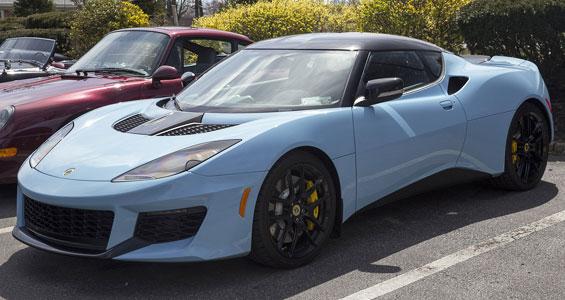 Lotus Evora Car Model