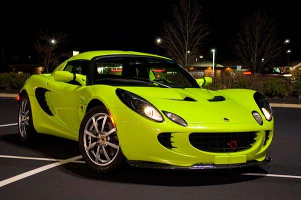 Lotus Elise Green Car Model