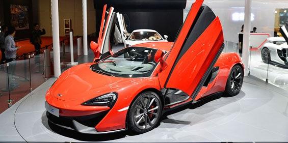 McLaren 540C Car model