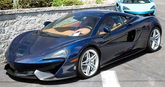 McLaren 570S Car model