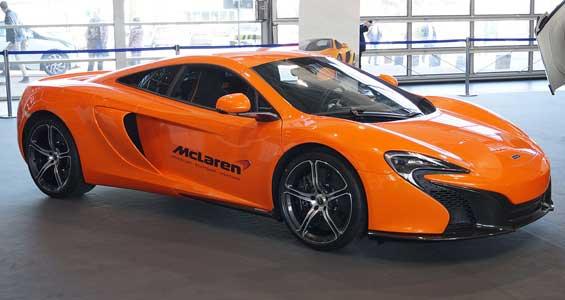 McLaren 650S car model