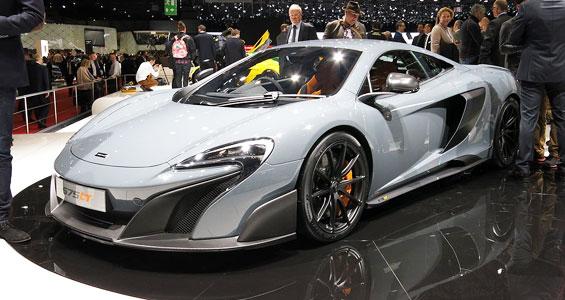McLaren 675LT Car Model