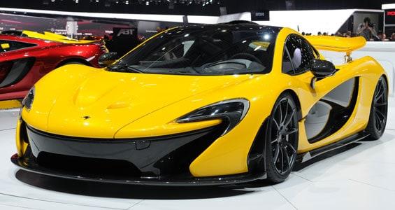 McLaren P1 car model