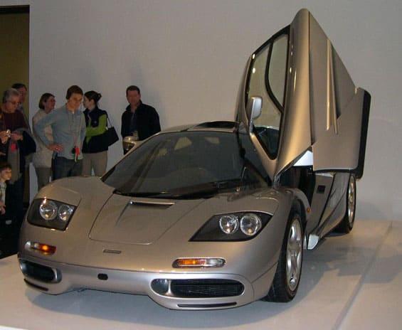 Mclaren F1 car model