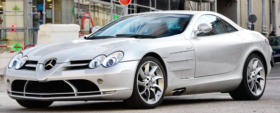 Mercedes-Benz SLR McLaren Car Model