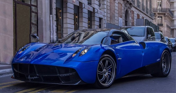 pagani huayra car model