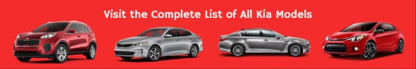 Kia Car Models List