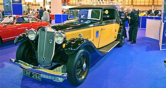 Lancia Dilambda Car Model