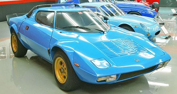 Lancia Stratos Car Model
