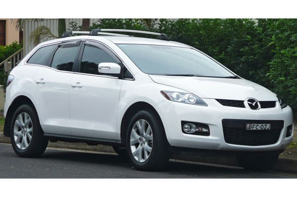 Mazda CX-7 Front View