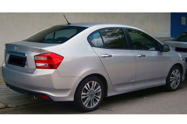 2012 Honda City Rear View