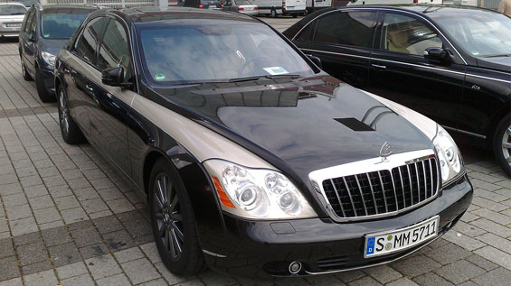 Maybach Zeppelin car model