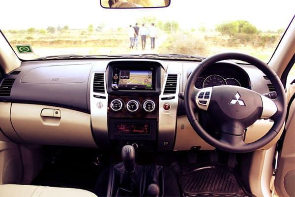 Mitsubishi Montero Sport Interior