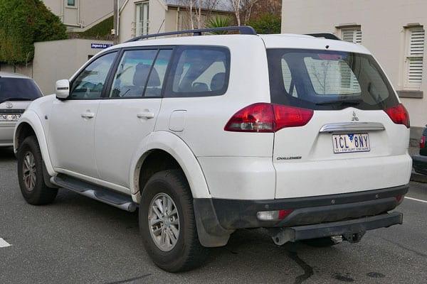 Mitsubishi Montero Sport Rear View